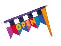 Lance-A-Lot Open Flag