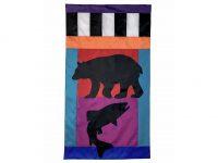 Bear and Fish Flag