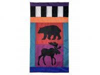 Bear and Moose Flag