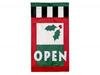 Holly Open Flag