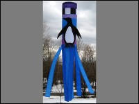 4′ Penguin Windsock