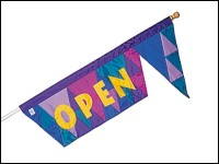 Jouster's Point Open Flag