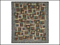 Secret Garden 'Windows' Quilt