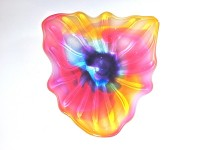 Optic Flower Wall Platter
