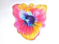 Optic Flower Wall Platter