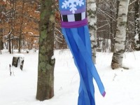 6′ Snowflake Windsock