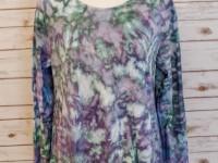 Women's Cotton Long Sleeved Asymmetrical Top