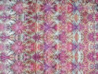 42″ Square Ice Dyed Quilting Fabric – 'Fireworks'