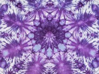 42″ Square Ice Dyed Quilting Fabric – 'Mandala'
