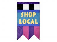 23″ Lance-A-Lot Shop Local Flag