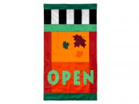 Fall Open Flag